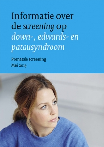 Folder informatie over de screening op down-, edwards- en patausyndroom-1